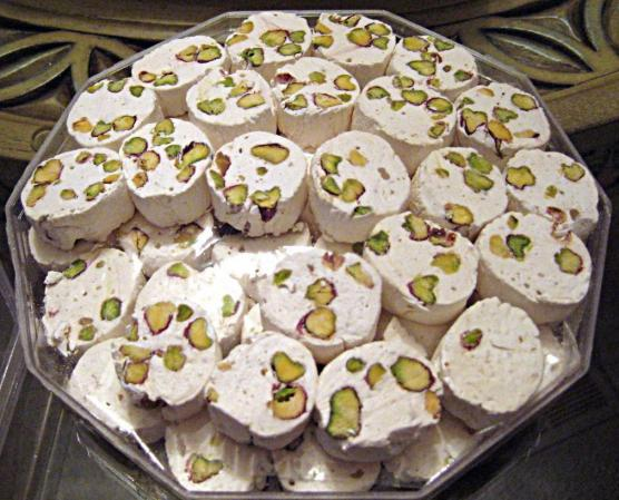 What are the most delicious types of Iranian nougat?